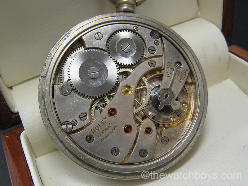 Vintage Rolex® Pocket Watch - Click Image to Close