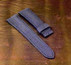 Breitling Style Rubber Texture (Kevlar Look) with Black Stitch