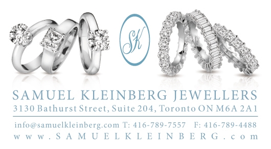 Toronto Diamond Jewelry Samuel Kleinberg Jewellers